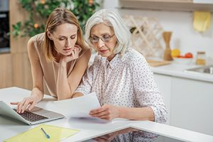 Transferring Finances to Family Before In Home Care | Home Care Book